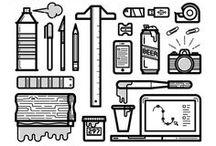 Icons / Icons, Illustration, Iconography, Graphic Design