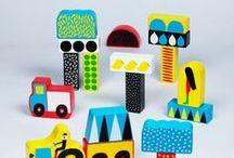 Toys / Industrial design, Graphic design, Toys, Children, Kids, Blocks, Alphabets, Design, Icons