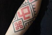 GEOMETRICA / Geometric and minimalistic tattoos.