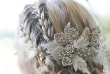 Bridal Hair Designs / Ideas & inspirations for great hair for that special day!
