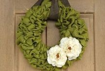 Wreath's / by Crystal Kent