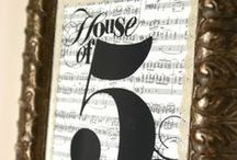 Music to my ears (vintage music sheets)