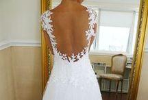 ~Indie + Vintage Wedding Dress Designs~  / Indie Wedding Dresses + Vintage-inspired Wedding Dresses / by Hustle Your Bustle