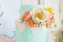 ~Coral + Turquoise Wedding Colors~ / Coral + Tiffany Blue Wedding Colors / by Hustle Your Bustle