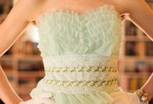 ~Colorful Wedding Gowns~  / #Colorful #Wedding #Dresses  / by Hustle Your Bustle