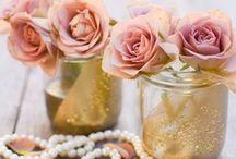 ~Ode to the Mason Jar~ / Mason jar inspired wedding decor / by Hustle Your Bustle