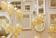 ~Up + Away Bridal Balloons~ / Balloons in Wedding Decor / by Hustle Your Bustle