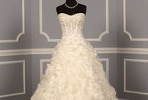 ~A-Line Wedding Dresses~ / #A-line #Wedding #Gowns / by Hustle Your Bustle