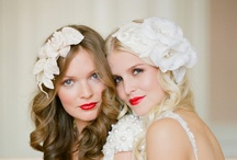~Flowers in Her Hair~ / Floral Bridal Hairpieces  / by Hustle Your Bustle