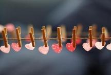 b.my.valentine. / Love is everywhere! xo / by ~~ Cathleen ~~
