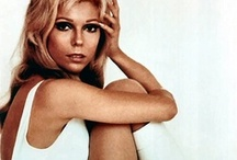 """nancy.sinatra. / I had a pair of white go-go boots just like Nancy when I was a little girl.... would stand on the fireplace and lip-sync to """"These Boots Are Made For Walkin""""!!  Those were the days!! xo"""