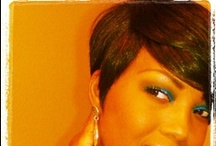 Hair is an accessory....be versatile! / by Corey Frazier-Haynes