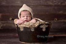 Newborn hats, headbands, clothes, etc ideas / by Gabby Malcuit
