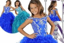 Ritzee Girls Pageant Dresses / Wow The Judges and Turn Heads In these Absolutely Stunning Gowns!  / by sosweetboutique.com