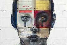 Upcycled Art / #upcycled #Art #Arts
