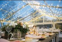 w+w wedding - crème de la crème / Tegan + Andrew's beautiful garden wedding under an especially starry sky with a stunning French-Country feel by white+white weddings and events.