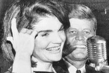 Camelot / President John Fitzgerald Kennedy, his wife Jacqueline Bouvier Kennedy and their children Caroline and John Jr. impacted my family greatly. Although I was a toddler when JFK was assassinated, I can recall the horror around me when the news broke. Everyone in my world was impacted --- family members, neighbors, church family, my parents' friends & their co-workers. JFK and his family left a tremendous legacy which I have chosen to honor via this board. / by Michelle Woodburn
