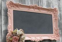 Chalkboard / #chalboard, #blackboard, #decoration #tableaunoir