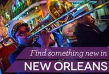 Do Something New in #NOLA / From the Musicians Village in the 9th Ward to the Ghosts, Legends and Lore Walking Tour, there is always something to do in New Orleans. / by Travelocity Travel