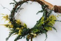 Wreaths / Flower Wreath, flower crowns, flower crown, floral wreath, wreaths