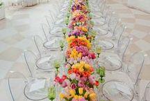 Long Table settings / by Weddingish