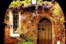 Old Homes, Doorways & Windows and Passageways / ..&rooftops / by Ketti Queen