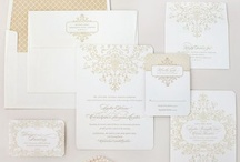 Wedding Papery / From save the dates, to invites to place cards, here are our favorite stationary. / by Weddingish