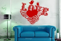 adesivi murali// wall stickers