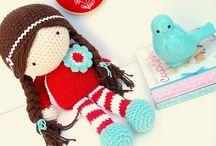 Crochet doll - gehaakte pop