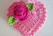 Crochet heart - gehaake hartjes