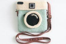 Crochet phonecover, bags - gehaakte gsm hoesjes en tassen