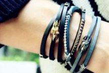 Leather Wrap Bracelets / by Plukka (Fine Jewelry)
