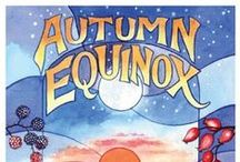 Mabon / Autumn / A celebration of the Festival of Mabon - September 21st - the time of balanced light and the second of the harvest feasts.