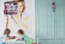 Kid's Interiors & Furnishings / Kids bedrooms, play rooms, kids furniture and design / by Issy Zinaburg