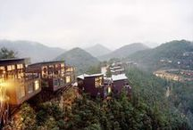 Eco. Hotels / Environmentally-responsible lodging that follow the practices of green living.