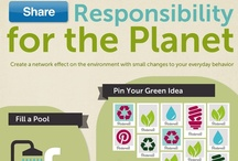 Eco. Infographics / Technology + Education + Environment + Lifestyle + Health