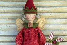 Tilda Doll Tone Finnanger / I love the work of Tone and I am placing here some products, to share with you all and mostly for my own inspiration / by Francien