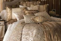 Bedding and Bedroom Inspiration / Welcome . Please feel free to pin as long as you do not PowerPin through boards  / by Susan Edghill