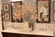 Bathroom Inspiration. / by Susan Edghill