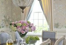 Dining Room / Breakfast room Inspiration / by Susan Edghill