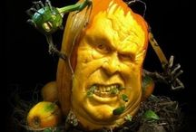 pumpkin carving / why don't my pumpkins look like this?