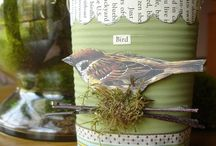 Arts/Crafts - JARS, CANS, BOTTLES / by Lisa Trammell