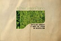 """""""The Green Piano"""" - 8 hour LIVE piano concert  /  An ***web-only*** exclusive 8-hour piano concert which will be streaming live from www.calcatelli.com Sep 14th 2013 - 12 (est)  Claim your FREE e-ticket: www.thegreenpiano-estw.eventbrite.com   / by Oreeko"""