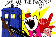 SuperWhoLock...and other crossovers / Supernatural, Doctor Who, and Sherlock trifecta of greatness. Other ideal crossovers as well / by Ashley Ackert