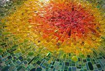 mosaics / glass art, mind puzzles