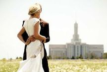 LDS weddings / a pin board to look at for those LDS brides-to-be. / by Megan Hulstine