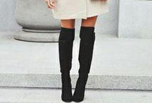 Inspiration   Overknees / Read more about overknees in my blog >> sannenoorman.com