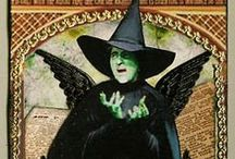 """The Imaginary Witch / Who do we """"think"""" witches are? green skin, pointy hats, sexy, ugly, old, young, scary, and idealized, these are societies images of the witch, not a witches view of themself."""