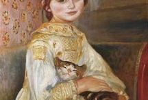 Peintre (Pierre-Auguste Renoir) / Animalier Quelques tableaux impressionnistes