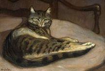 Peintre (Théophile Alexandre Steinlen) / Chats